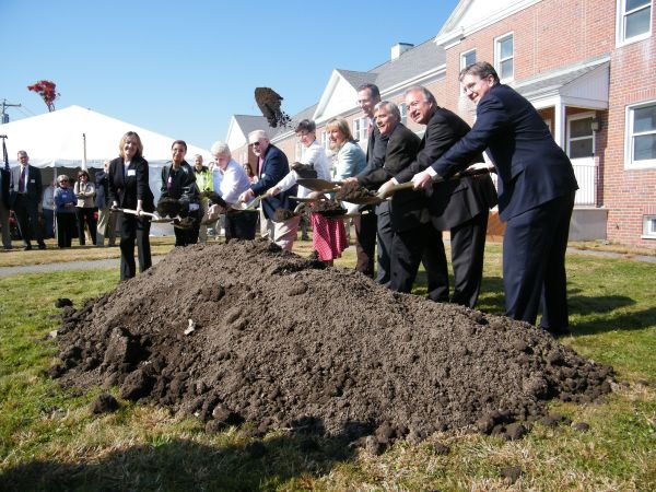 Musterfield Groundbreaking